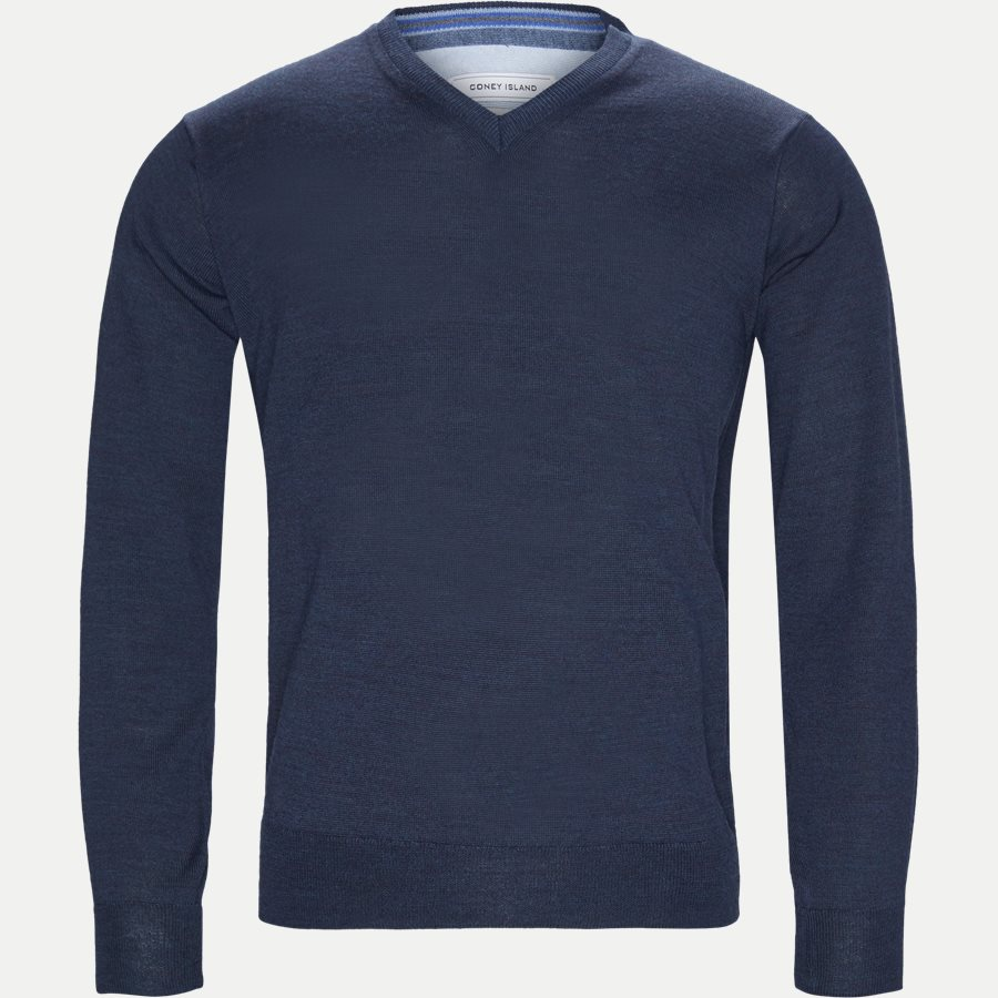SMARALDA - Knitwear - Regular - NAVY MEL - 1